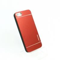 【iPhone5/5S/SE】 アルミケース(MOTOMO)【レッド】