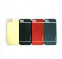 【iPhone5/5S/SE】 アルミケース(MOTOMO)【ブラック】
