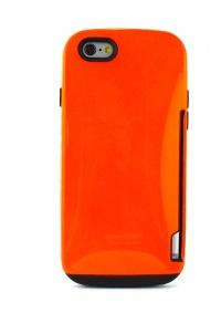 【iPhone6専用】カードイン高級樹脂ケース