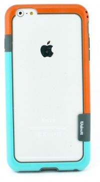 【iPhone6Plus】軽量プラスチックバンパーケース 衝撃 緩和!